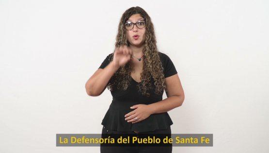 Comunicate por WhatsApp con la Defensoría del Pueblo - SPOT Institucional con lenguajes de señas
