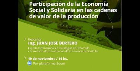 Participación de la economía social y solidaria en las cadenas de valor de la producción