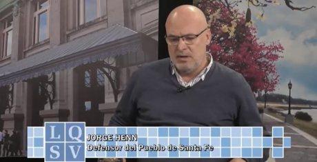 Entrevista al defensor del Pueblo a cargo Jorge Henn