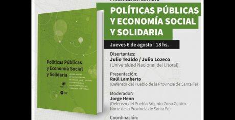 """Presentación del libro """"Políticas Públicas y Economía Social y Solidaria"""""""