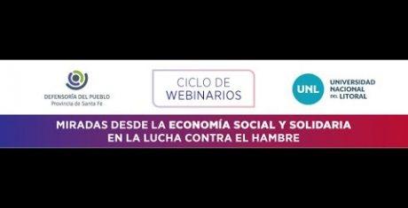 """DÍA 1 - WEBINAR """"Miradas desde la Economía Social y Solidaria en la lucha contra el Hambre"""""""