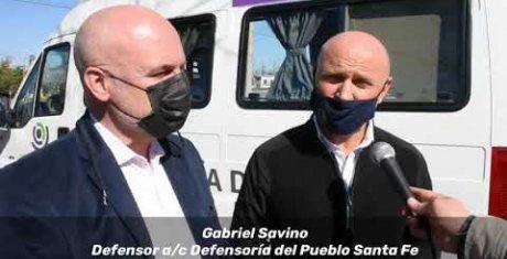 Las oficinas móviles de la defensoría realizarán atenciones en ocho barrios de la ciudad de Santa Fe