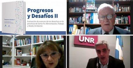 """Presentación libro """"Progresos y desafíos II: evaluación de los avances de los Derechos en la Pro..."""""""